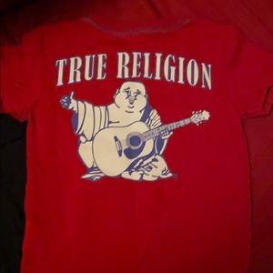 2t True Religion Budda Brand Tshirt